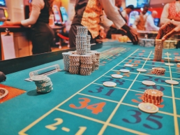 Casino game with chips. Risk management is an important part of any endeavour.